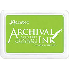 ARCHIVAL INK- VIVID CHARTREUSE