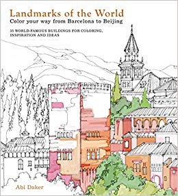 Landmarks Of World Coloring Book
