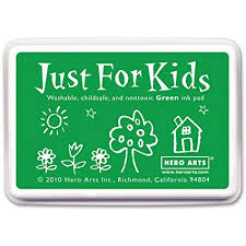 Hero Arts Just for Kids Green Ink Pad