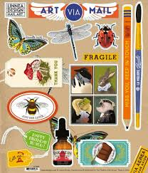 Art Mail Sticker Sheet