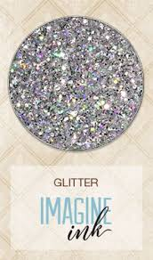 Imagine Ink Glitter - Silver Prism