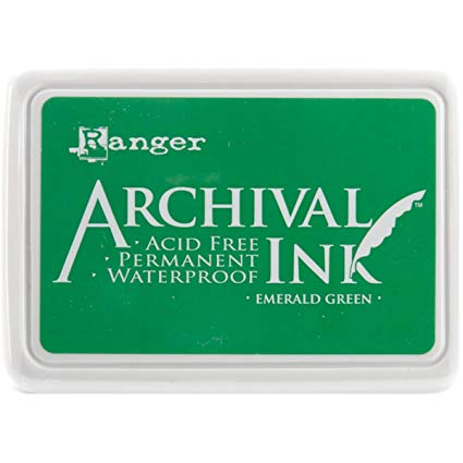Archival Ink Pad XL EMERALD GREEN