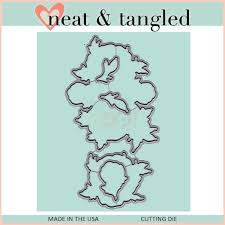 Neat & Tangled Grateful Heart Die Set