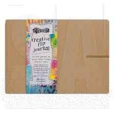 "Dylusions Large Flip Journal - 11-5/8""x8-5/16"""
