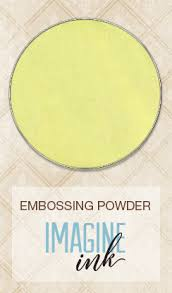 Imagine Ink Embossing Powder Buttercup