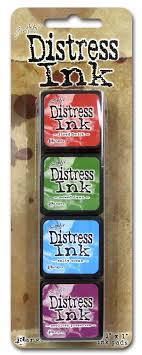 Distress Mini Ink Pad Kit #2