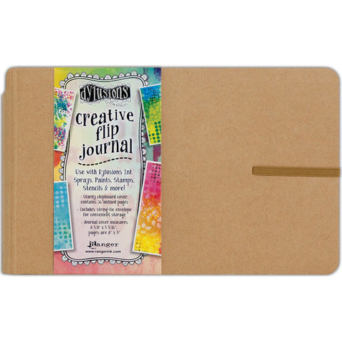 Dylusions Small Flip Journal