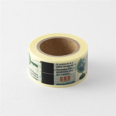 Traveler's Notebook Masking Tape