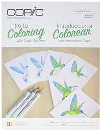 Copic Intro to Coloring Magazine