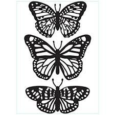 Darice Butterfly Trio Embossing Folder