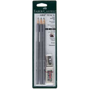Faber Castell Grip Pencil Artist Drawing Set