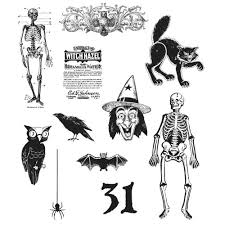TH Stamp Set: Mini Halloween 2