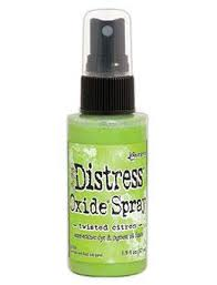 Twisted Citron Distress Oxide Spray