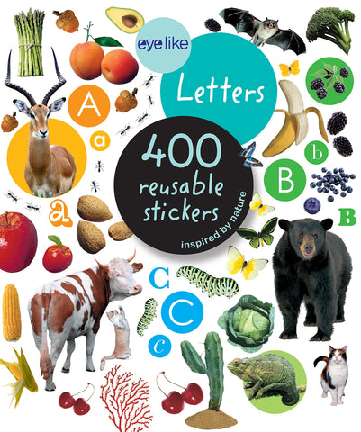 Eye Like Letters Sticker Book