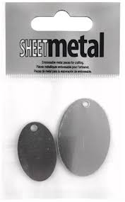 Sheet Metal - Oval Large