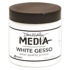Dina Wakley Media White Gesso - 4 oz.