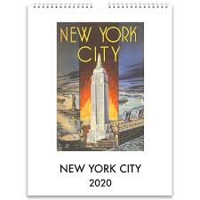 2020 Wall Calendar: New York City