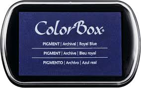 Colorbox Pigment Ink Pad Royal Blue