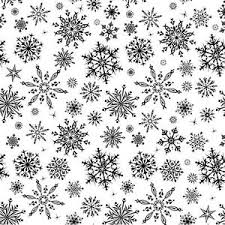 Cover-A-Card Snowflakes Cling Stamp