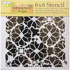 TCW Distressed Lace 6x6
