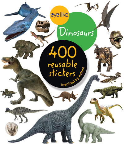 Eye Like Dinosaurs Sticker Book