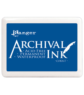 Archival Ink Pad XL COBALT