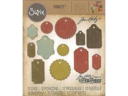 Sizzix Gift Tag Thinlits Dies