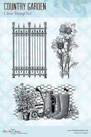 Country Garden Cling Stamp