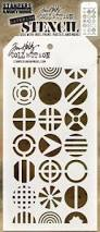Tim Holtz Patchwork Circle Stencil