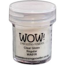 WOW! Clear Gloss Regular Embossing Powder