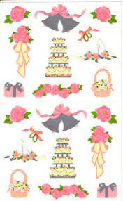 Mrs. Grossman's Wedding Bells Stickers