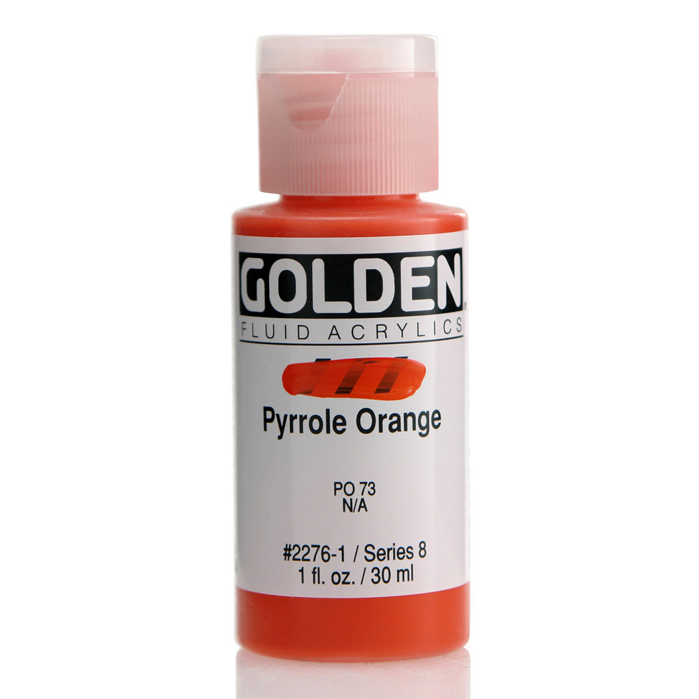Fluid Acrylic Pyrrole Orange