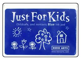 Hero Arts Just for Kids Blue Ink Pad
