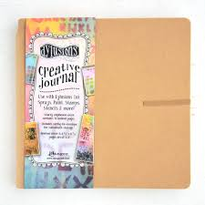 Dylusions Square Creative Journal KRAFT
