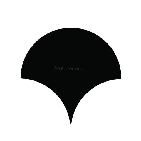 Rubbermoon Solid Fan Large