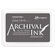 Archival Ink Pad WATERING CAN