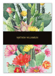 Deluxe Cactus Flow Notebook