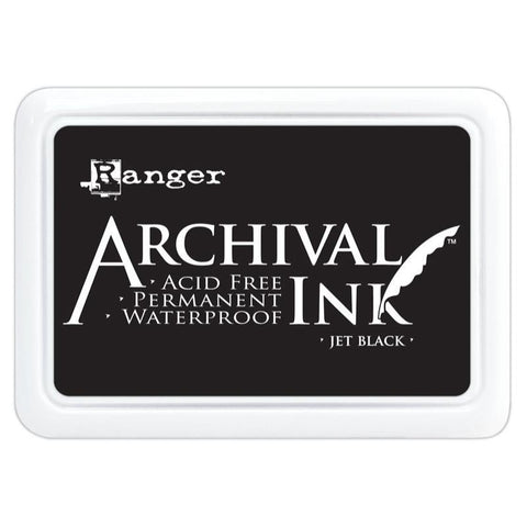 Archival Ink Pad JET BLACK