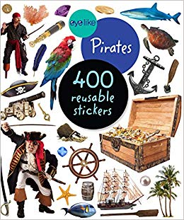 Eye Like Pirates Sticker Book