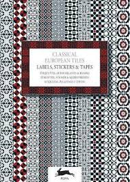 Label and Sticker Book Classical European Tiles