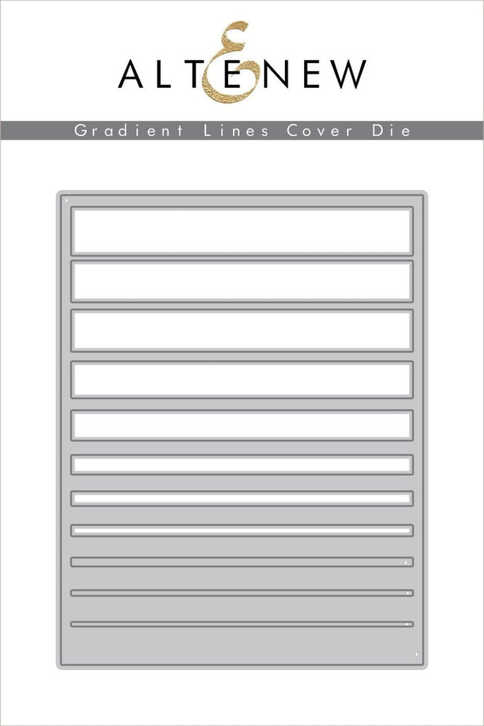 Altenew Gradient Stripes Cover