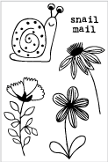 Mini Snail Mail Stamp Set