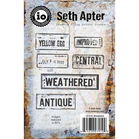 Seth Apter Mislabeled Stamp Set
