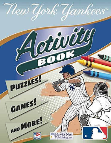 MLB New York Yankees Activity Book