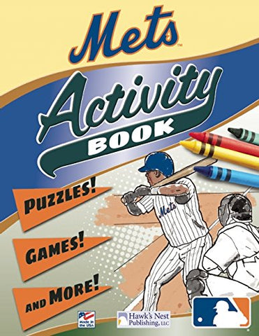 MLB Mets Activity Book