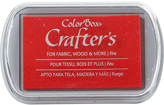 ColorBox Crafters Ink Pad Fire