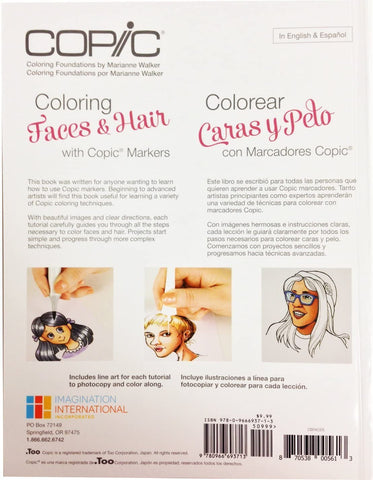 Copic Coloring Faces & Hair Book