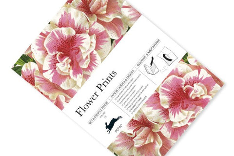 Pepin Gift and Creative Paper Book: Flower Prints