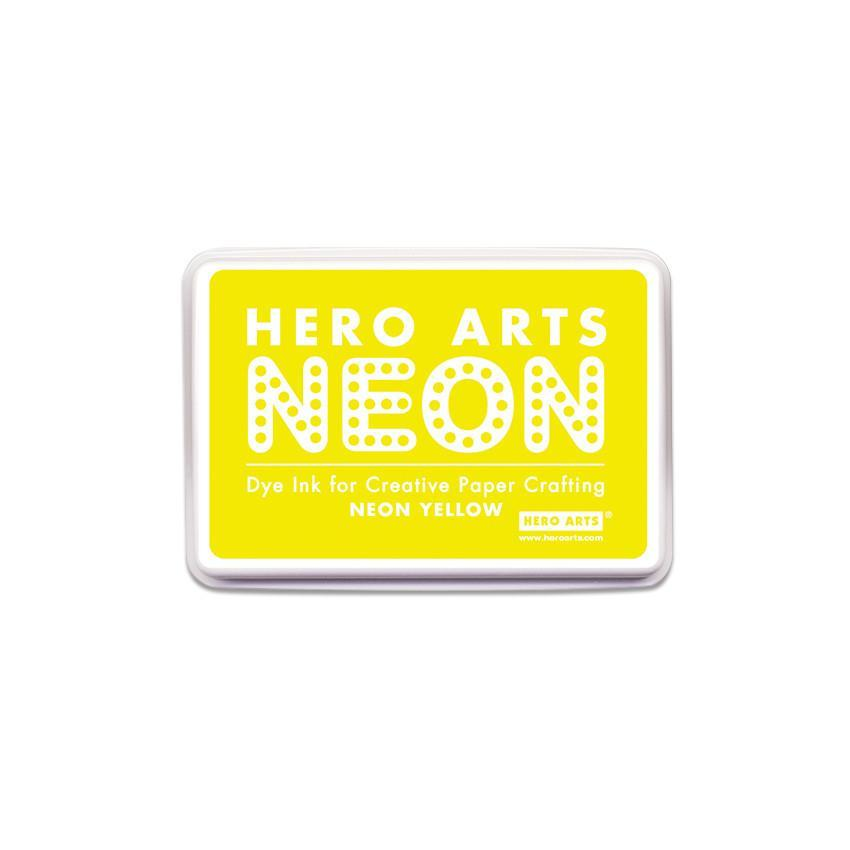 Hero Arts Neon Yellow Ink Pad