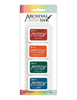 Archival Mini Ink Pads Set #1